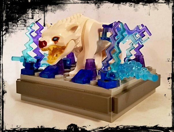 Yokai Brickthology While the beast is generally calm and harmless, during thunderstorms it becomes. yokai brickthology